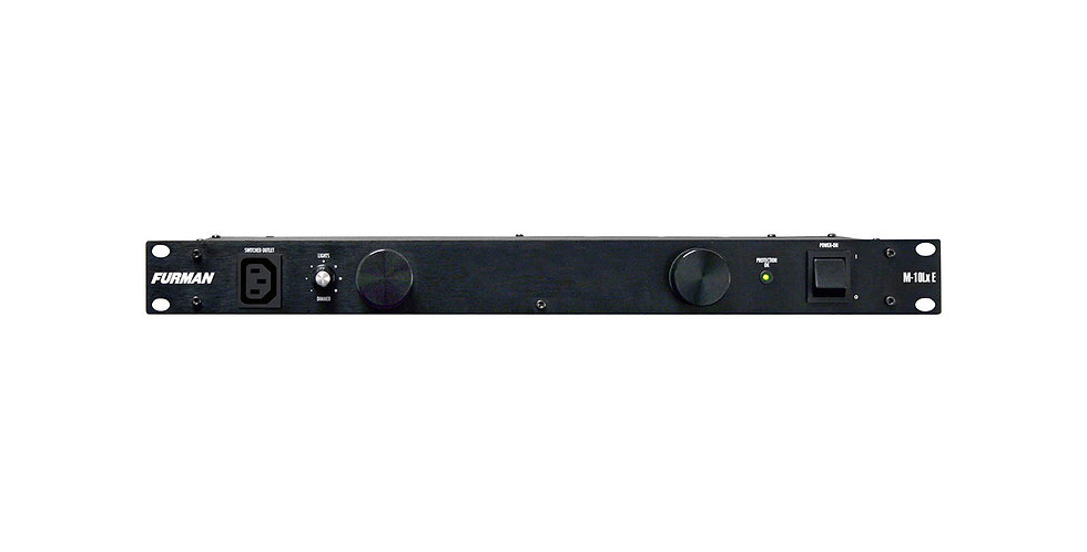 FURMAN M-10LX E 10A STANDARD POWER CONDITIONER W/LIGHTS, 240V