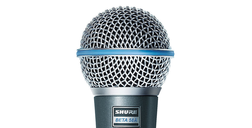 SHURE BETA58A SUPERCARDIOD DYNAMIC VOCAL MICROPHONE