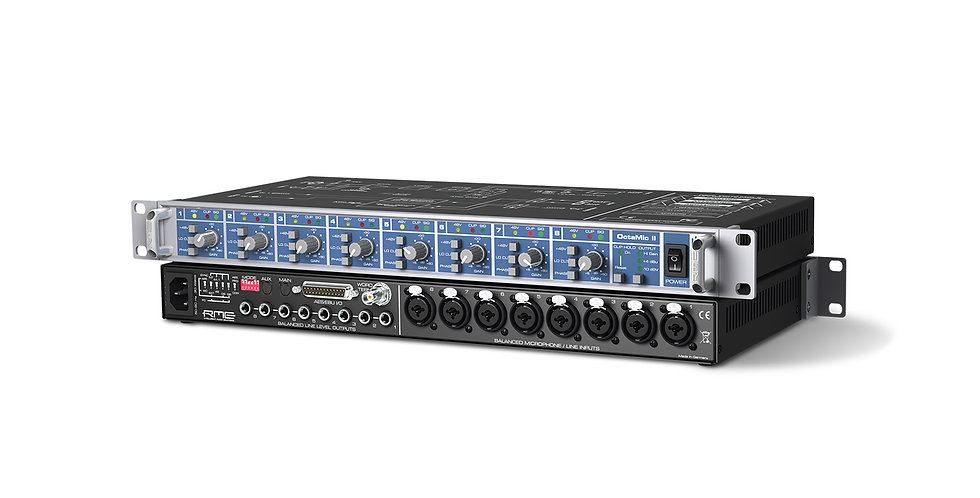 RME OctaMic II 8-Channel Mic Preamp & AD Converter