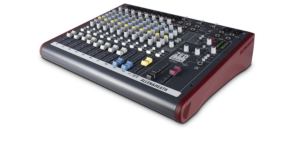 ALLEN & HEATH ZED60-14FX Multipurpose Mixer with FX for Live Sound and Recording