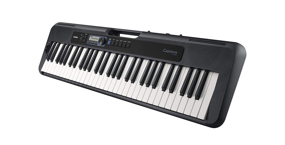 CASIO CT-S300 CASIOTONE 61 KEY TOUCH SENSITIVE PORTABLE KEYBOARD (BLACK)