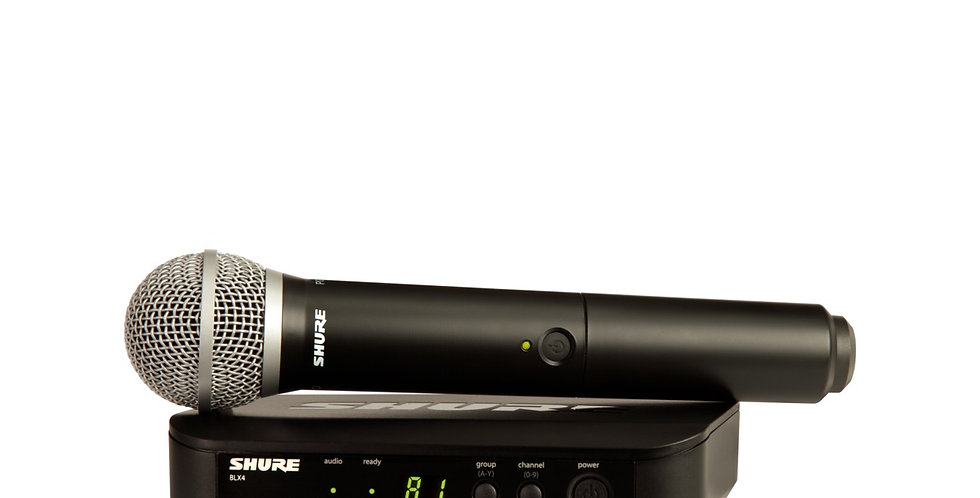SHURE BLX24/PG58 Wireless Vocal System with PG58
