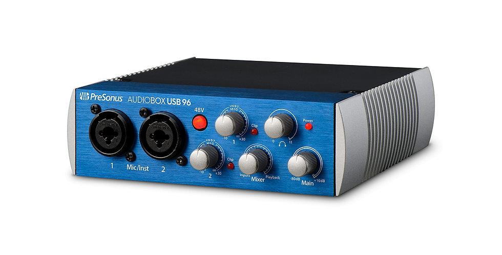 PRESONUS AudioBox USB 96: 2x2 USB 2.0 Audio Interface