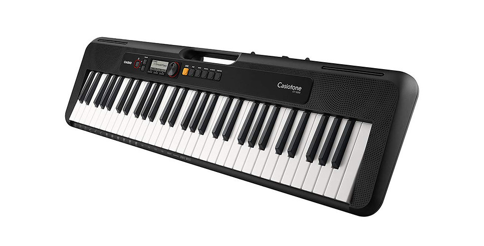 CASIO CT-S200 CASIOTONE 61 KEY PORTABLE KEYBOARD (RED)