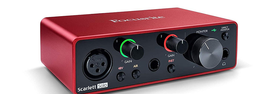 FOCUSRITE SCARLETT SOLO (3rd Gen) Audio Interface