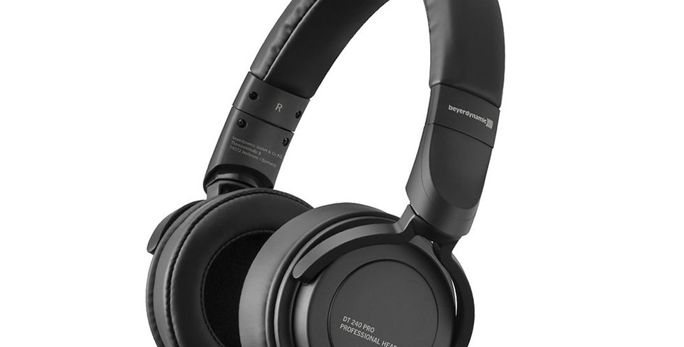 BEYERDYNAMIC DT 240 PRO stereo headphones for monitor and recording purposes