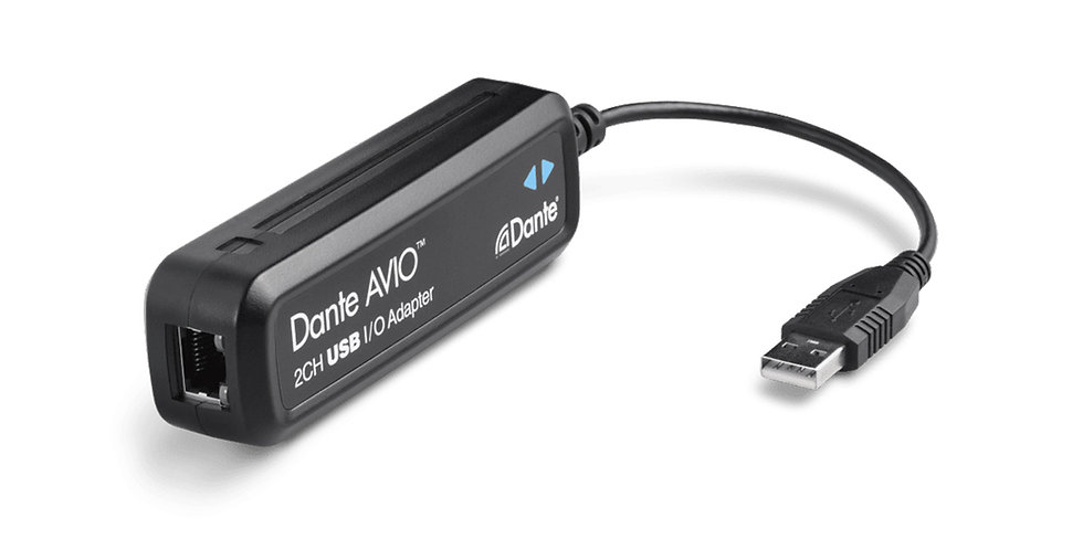 AUDINATE DANTE AVIO I/O USB ADAPTER 2x2