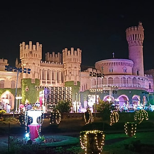 Palace Grounds Wedding