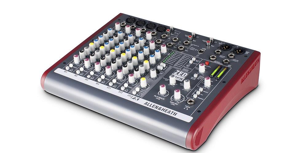 ALLEN & HEATH ZED-10FX Multipurpose Mixer for Live Sound and Recording
