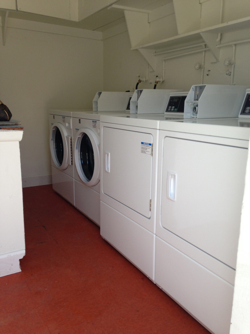 Private Onsite Laundry Facility