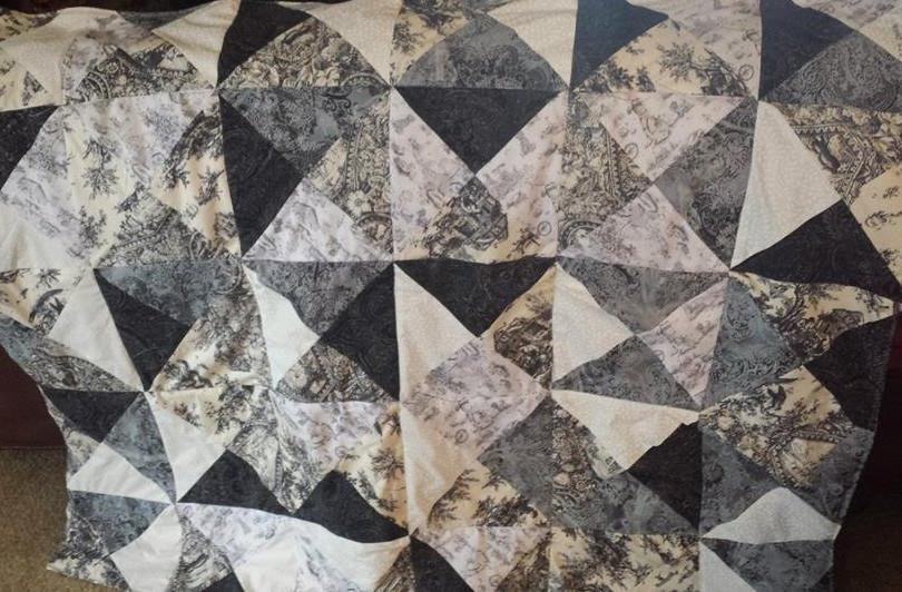 Greyscale Patchwork