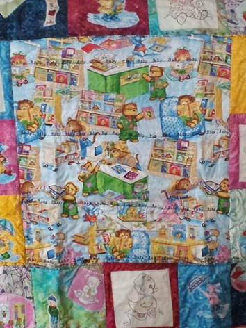 Teddy Bears Baby Quilt