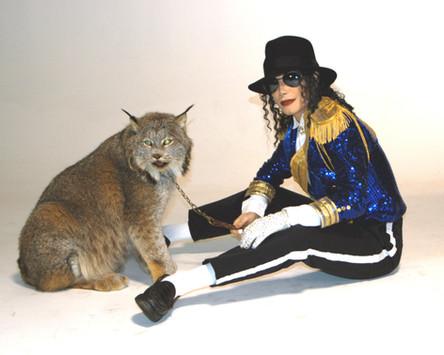 Michael Jackson Impersonator & Lynx
