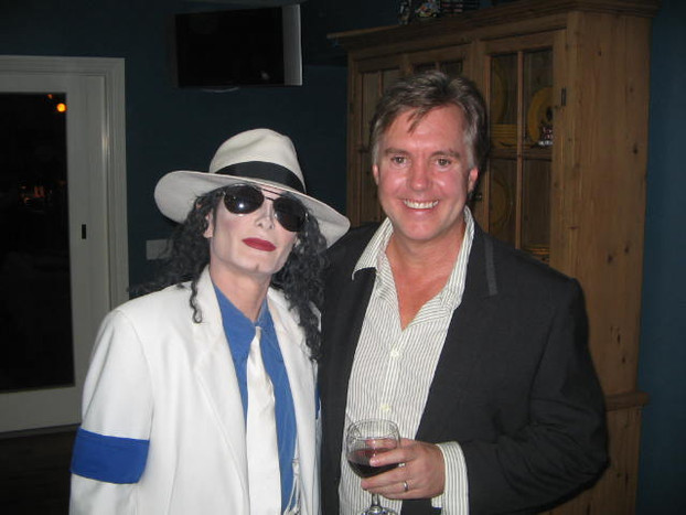 DEV as MJ with Shawn and MJ