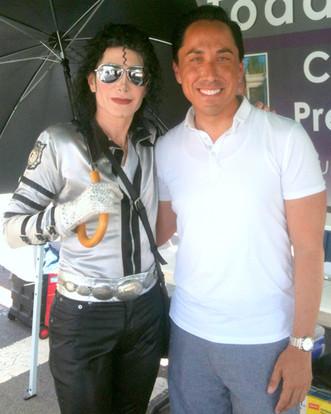 DEV as MJ with Todd Gloria