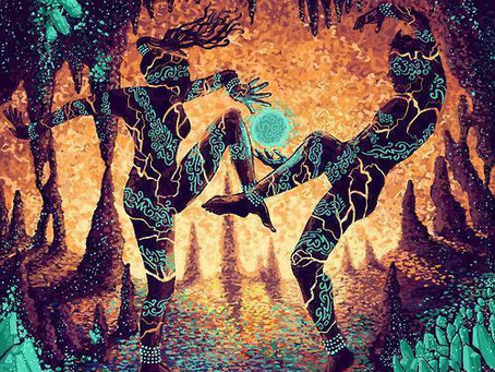 Dancing the Alchemical Fire Circle