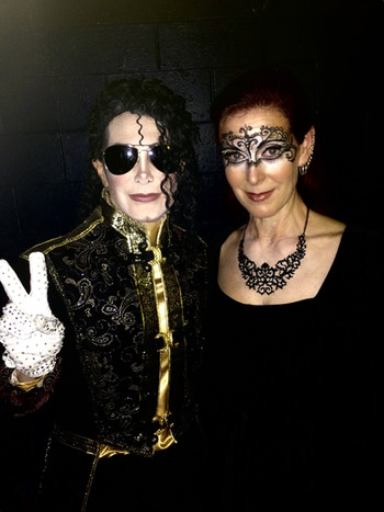Dev as MJ with Robin Roth