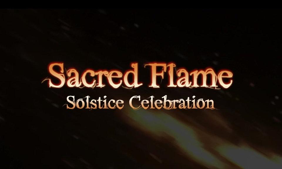 Sacred Flame Summer Solstice celebration