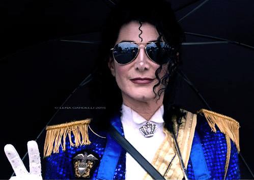DEV as MJ In Blue