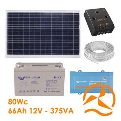 Kit Solaire 80 Wc 220 Volts