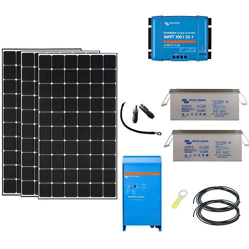 """Kit solaires 990W autonome """"Spécial Afrique"""""""