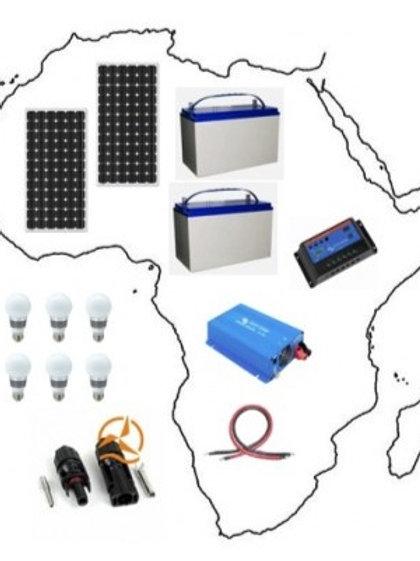 Kit Solaire Complet Afrique 1 470 Wh À 2 100 Wh