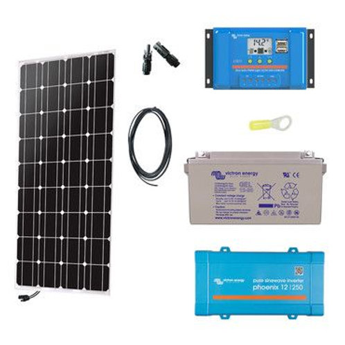 kit solaires 100 w
