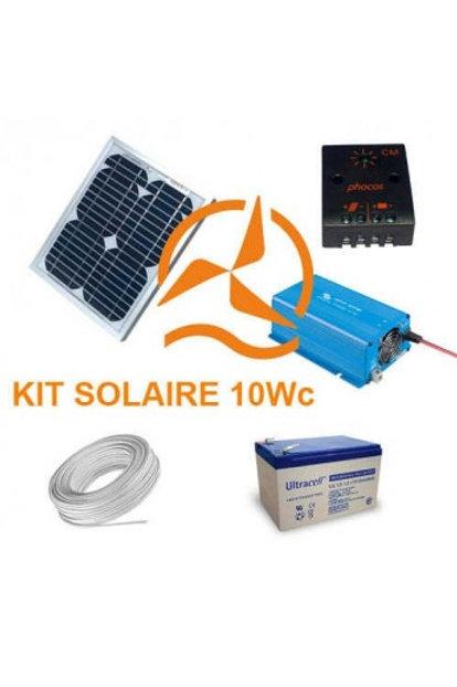 Kit Solaire 10 Wc 220 Volts - 250VA - 200 Watts