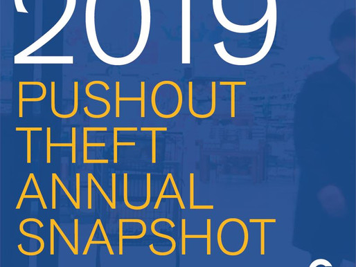 Statistics: 2019 Annual Pushout Theft Snapshot