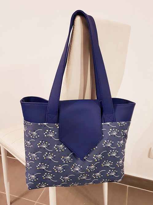 "Sac à main ""Madison"" bleu"