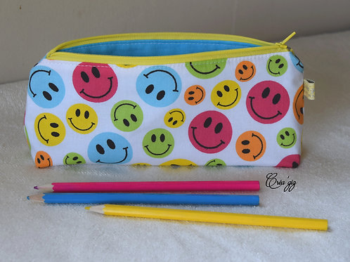 Trousse Smileys multicolores
