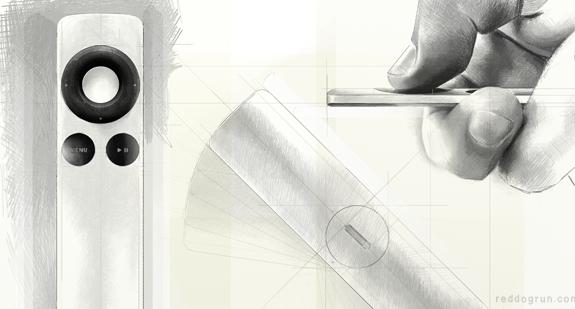 A Closer Look: The AppleTV Remote