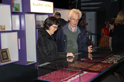 Visitors at Exhibition