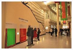 Visitors at Sari Exhibition