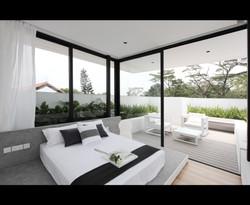 Plot 1 - Master bedroom