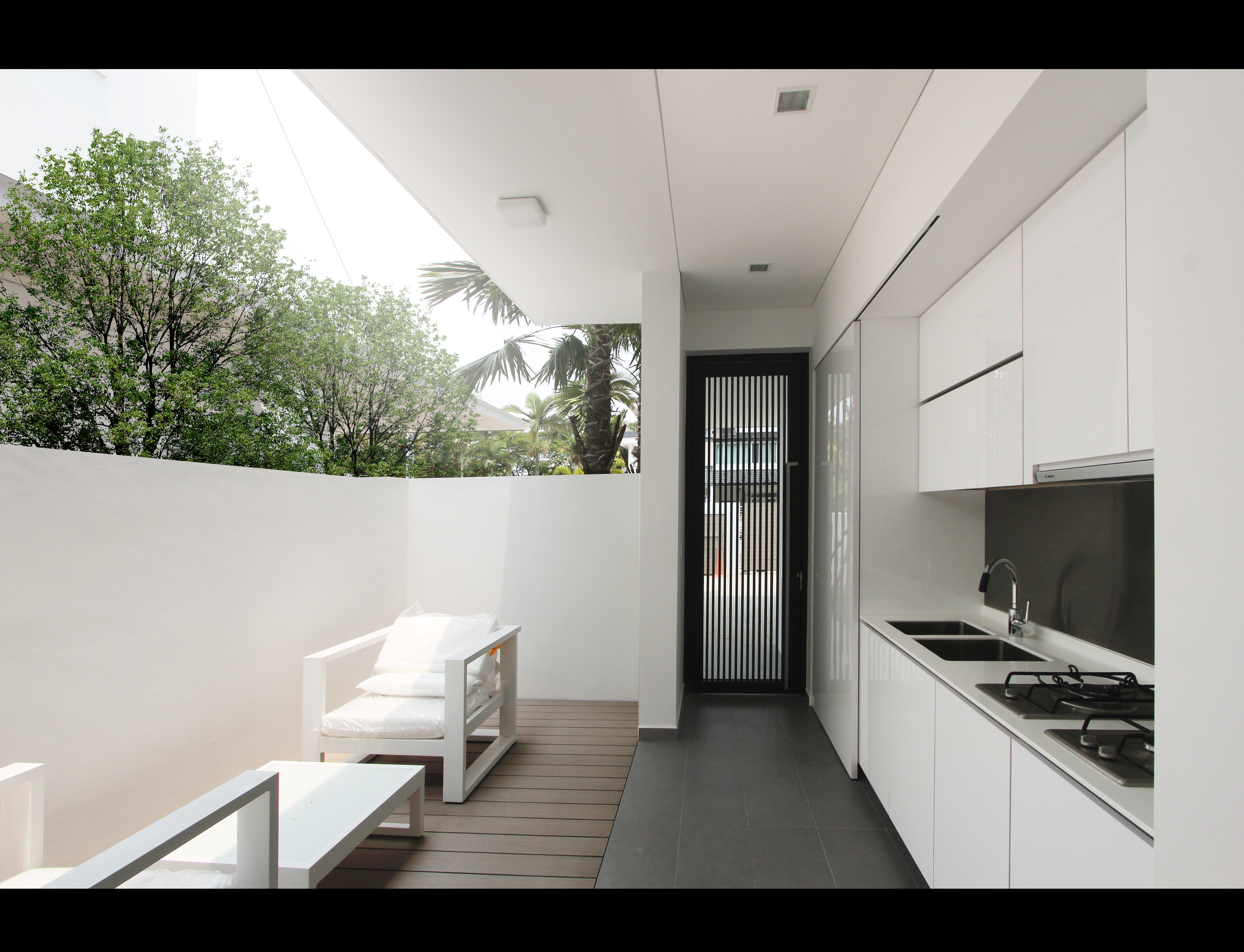 Plot 1 - Wet Kitchen Area