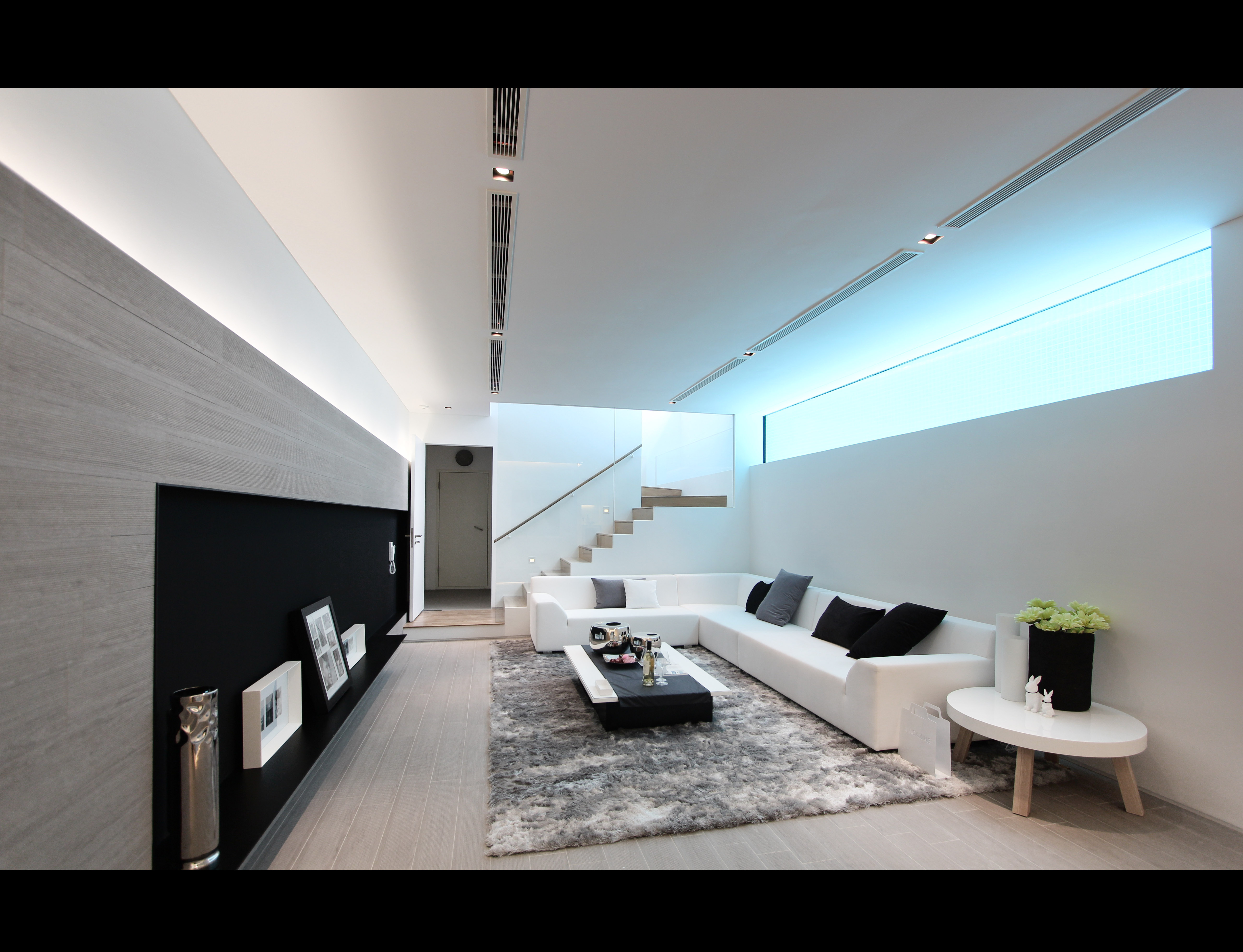 Plot 1 - Basement Living Room