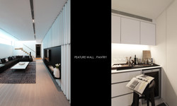 Plot 3 - Feature Wall & Pantry