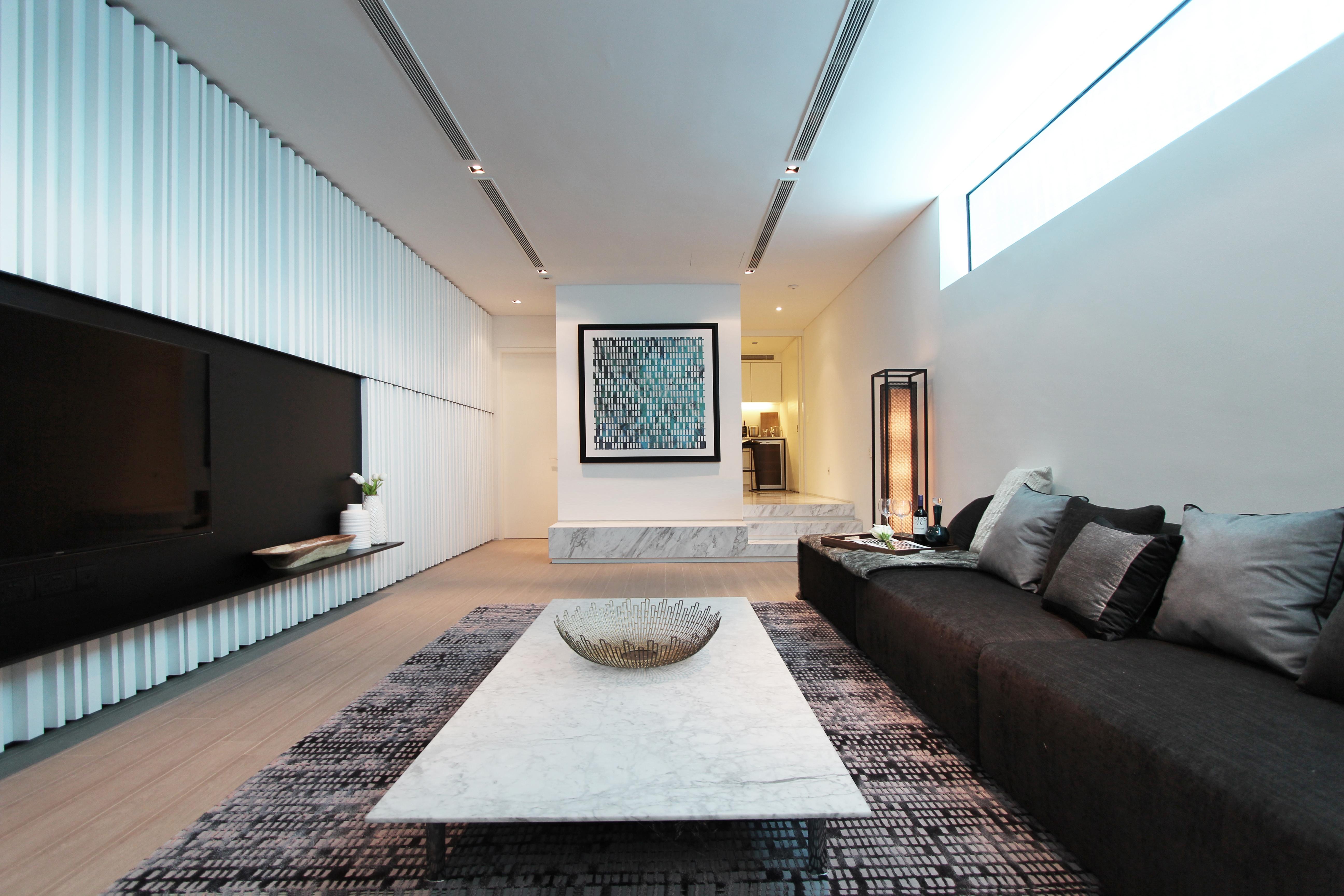 Plot 3 - Basement Living Room