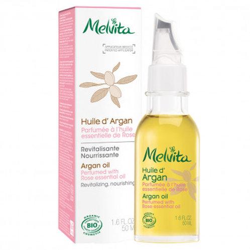 Huile d'Argan parfumée huile essentielle rose - 50ml