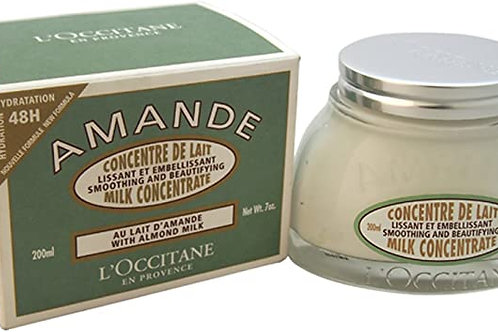 Crème pour le corps - Concentré de lait Amande - 200ml