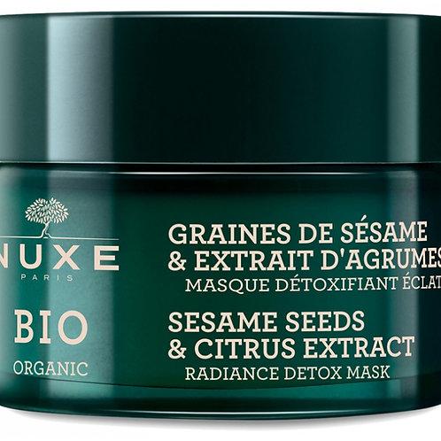 Nuxe Bio Organic Masque Détoxifiant Eclat - 50 ml