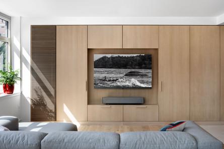 Upper-East-Side-Loft-built-in-wood-tv-st