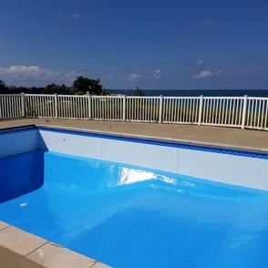 Freshly Repainted Pool