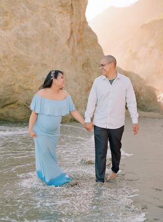 AGILE & KEVIN MATERNITY | MALIBU, CA