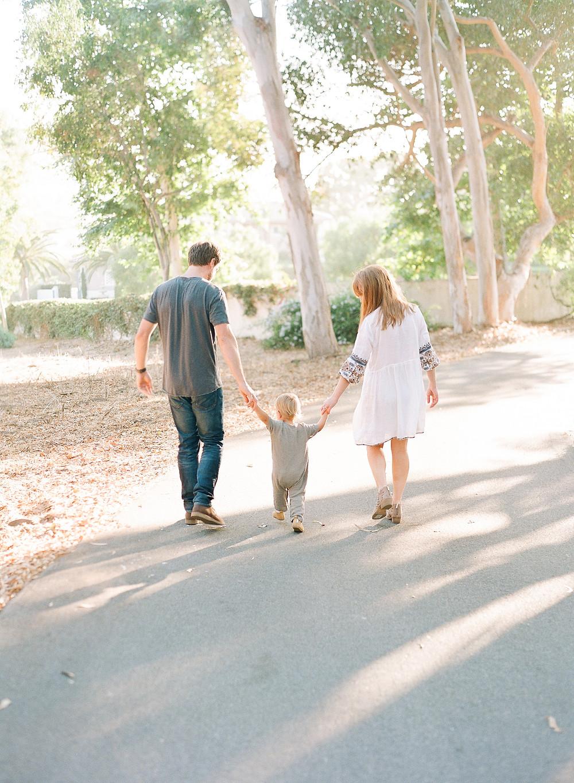 Family Portraits on film at Palos Verdes