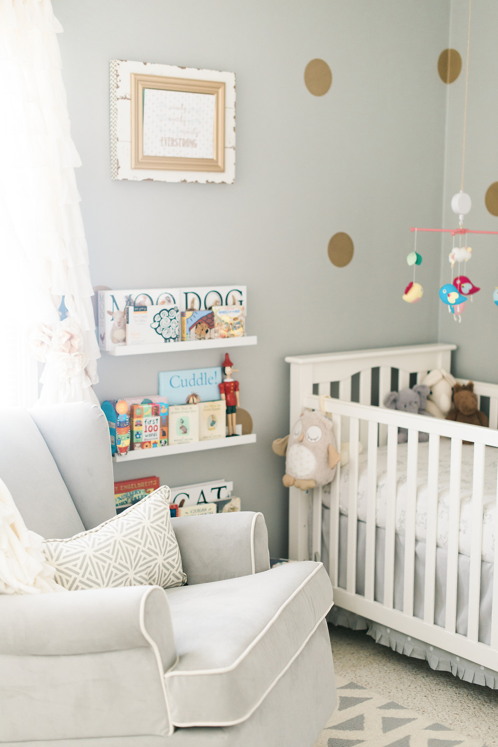 Photo of  interior decoration of toddler room in Burbank California