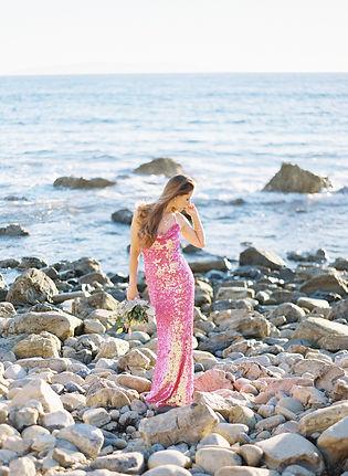 Pink-Sequin-Dress-Manhattan-Beach-Portra