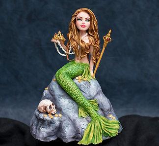 Mermaid Fondant Figure
