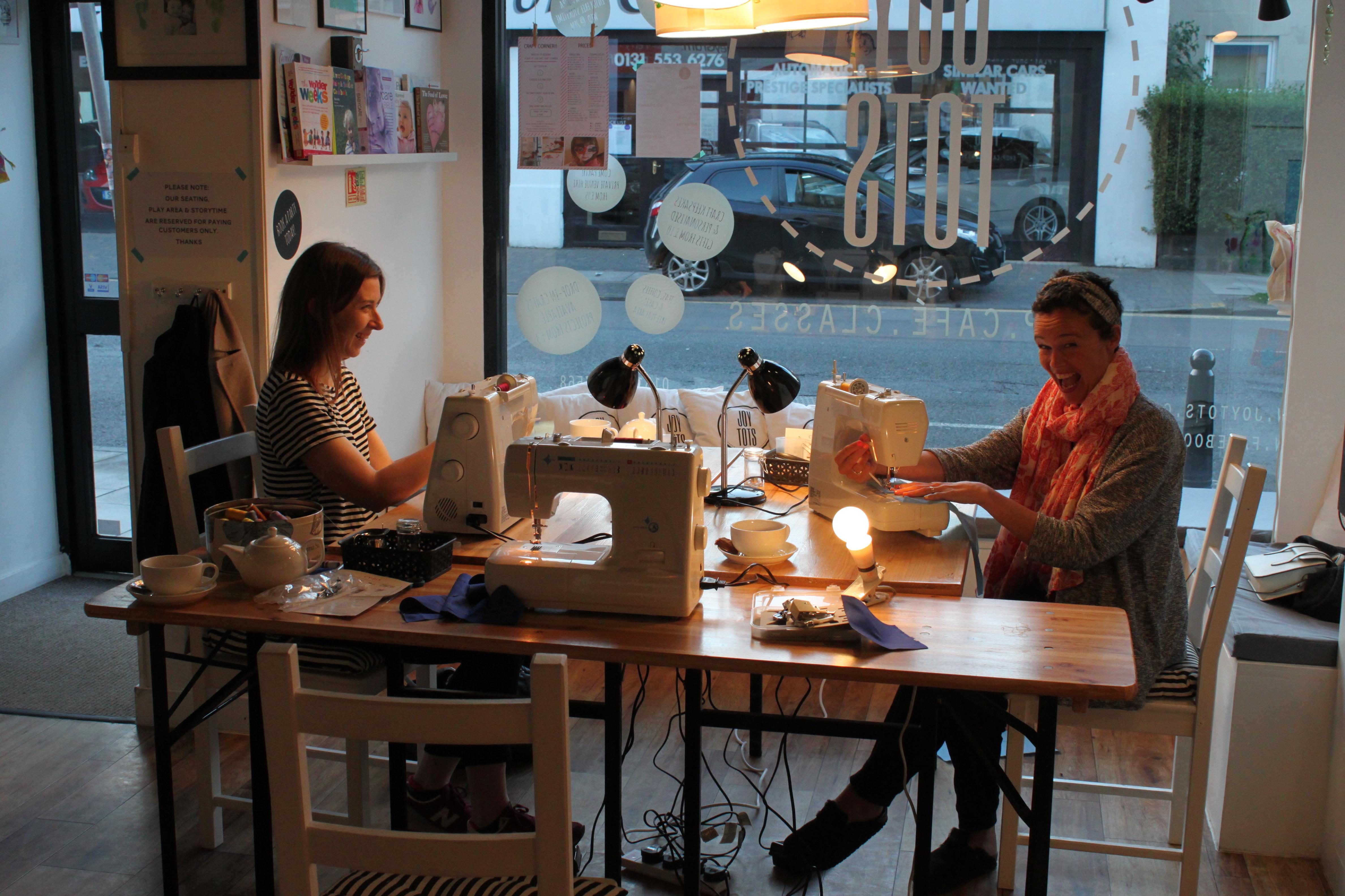 Sewing Classes Edinburgh- Joy Tots 3